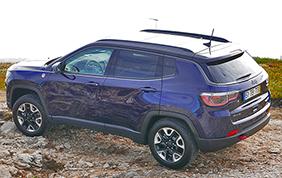 Sicurezza a cinque stelle per la nuova Jeep Compass