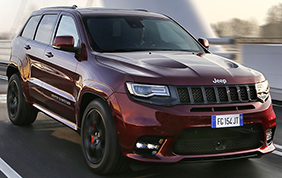 Jeep Grand Cherokee SRT : 468 cavalli e look aggressivo
