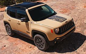 Parte la commercializzazione della Jeep Renegade Desert Hawk
