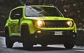 Jeep Renegade Upland: nata per il fuoristrada