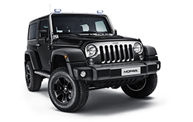 Jeep Wrangler con il Mopar One Pack al Rimini Off Road