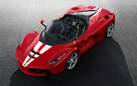 LaFerrari Aperta: all'asta per Save the Children un esemplare unico