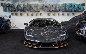 Lamborghini Centenario alla prima di Transformers l'ultimo Cavaliere!