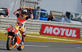 La concentrazione di Marquez nella conquista del titolo