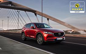 Massimo punteggio nei test Euro NCAP per la Mazda CX-5