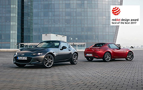 La Mazda MX-5 RF vince il premio Red Dot Best of the Best