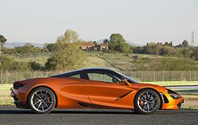 Al Salone dell'auto di Torino - Parco Valentino esposta la McLaren 720S