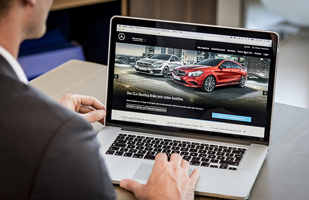 Mercedes-Benz Web Store