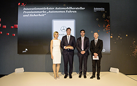 Automotive Innovations Award 2017: Mercedes-Benz conquista 2 premi per l'innovazione