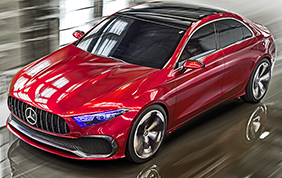 Mercedes-Benz Concept A Sedan: una berlina dal look grintoso