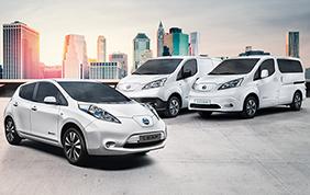 Nissan leader in Italia nella vendita dei veicoli totalmente elettrici