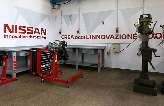 Nissan forma i giovani per un futuro professionale