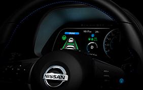 Nuova Nissan Leaf con sistema ProPilot 1.0
