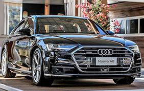 Sulla nuova Audi A8 debutta lo scanner laser