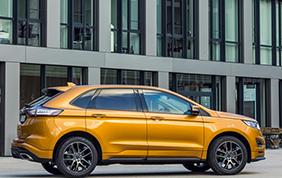 Il nuovo Ford Edge al Taste of Roma 2016