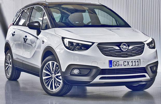 Un innovativo impianto GPL sulla nuova Opel Crossland X