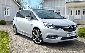 Opel Zafira conquista il riconoscimento per il valore residuo