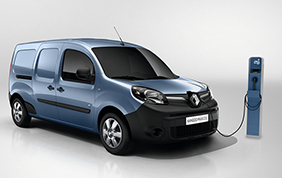 Nuovo Renault Kangoo Z.E.: autonoma pari a 270 km!