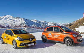 Renault Sport sigla una partnership con l' Ice Driving Val Thorens