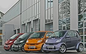 smart Brabus festeggia i suoi 15 anni al Verona Legend Cars