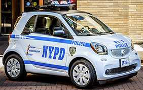 150 smart fortwo alla polizia di New York