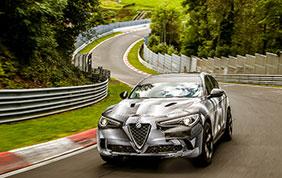 Al Nurburgring è record per l'Alfa Romeo Stelvio