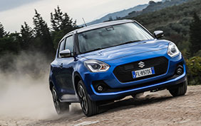 Nuova Suzuki Swift Hybrid 4WD All Grip