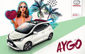 Toyota Aygo X-Wave: dinamica e divertente