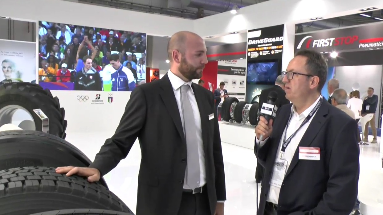 INTERVISTA BRIDGESTONE - Autopromotec 2017