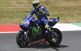 Valentino Rossi pronto per la sfida di Montmelò