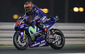 Maverick Vinales vince in Qatar, terzo Rossi