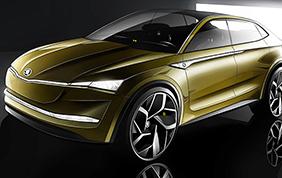 Skoda Vision: il concept debutta al Salone di Shanghai