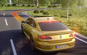 La nuova Volkswagen Arteon e il Cruise Control adattivo ACC