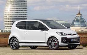 La Volkswagen svela le prime immagini della nuova up! GTI
