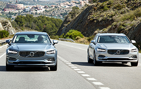 Le Volvo Serie 90 finaliste per il Car of the Year 2017