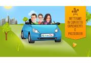 Meglio viaggiare low cost condividendo i posti in auto sulle lunghe distanze