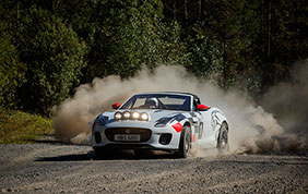 Realizzate due Jaguar F-Type Rally