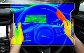 Jaguar: nuovo volante per maggiore sicurezza