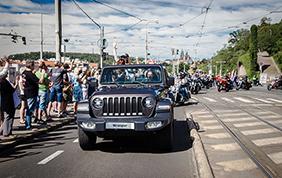 Jeep e Harley-Davidson alla European Bike Week