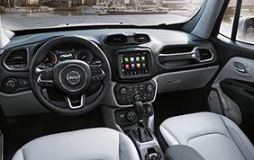 Tecnologia ed intrattenimento sulla nuova Jeep Renegade MY 2018