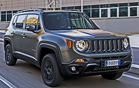 Una Jeep Renegade Hyper da supereroi