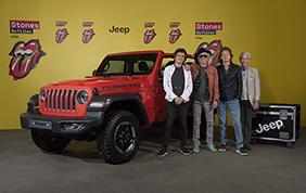Jeep Wrangler sponsor del tour Rolling Stones