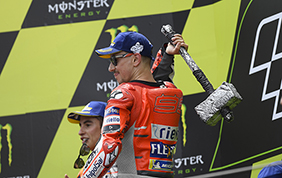 In Catalunya un vincente Jorge Lorenzo