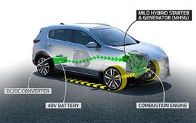 Kia Sportage ibrido / Diesel