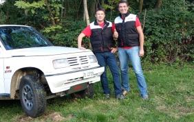 Gli ammortizzatori KYB in pista sulla Suzuki Vitara V8