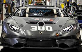 Prodotta la 300esima Lamborghini Huracan Super Trofeo Evo