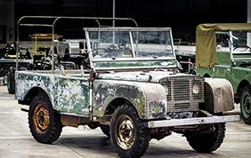 Land Rover festeggia il suo 70esimo compleanno con un restauro record!