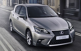 Lexus CT Hybrid Model Year 2018