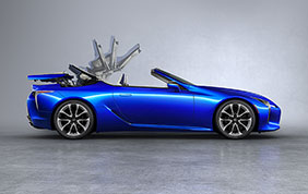 Lexus LC Convertible Model Year 2020
