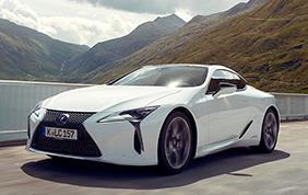 Lexus LC eletta Coupé dell'anno